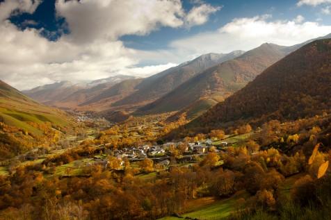 Valle de Degaña en otoño. Foto; Chema Díaz